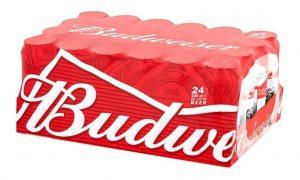 Budweiser x 24 unidades  lata