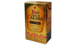 Ron caldas litro